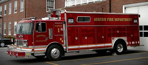 Auburn Fire Department Heavy Rescue Squad