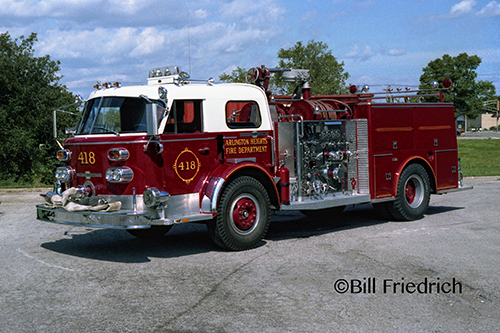 Arlington Heights Fire Department Engine 418