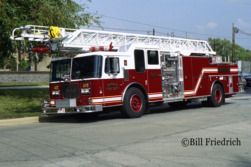 Berwyn Fire Department Truck 901