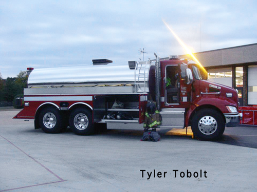 Cary Fire protection District tanker