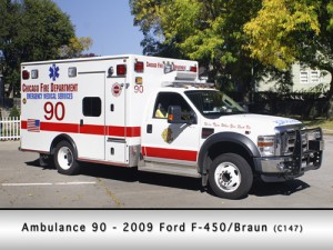 Chicago Fire Department Ambulance90