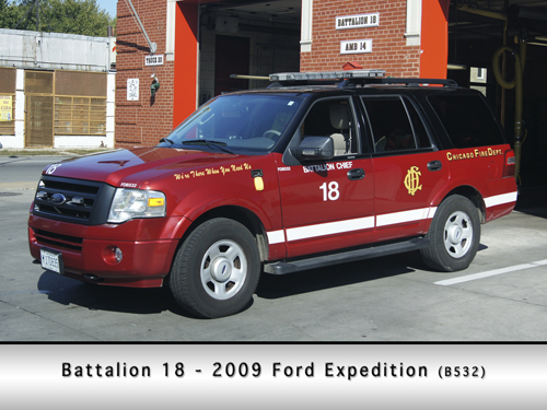 Chicago Fire Department Battalion Chief 18