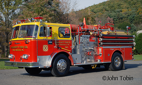 Community Fire Company New Ringgold, PA Seagrave engine