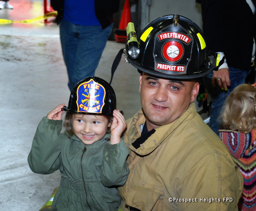 Prospect Heights FPD open house 2012