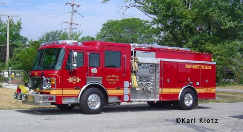 Palos Heights Fire Protection District American LaFrance