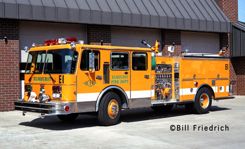 Elmhurst Fire Department Engine 1 Darley