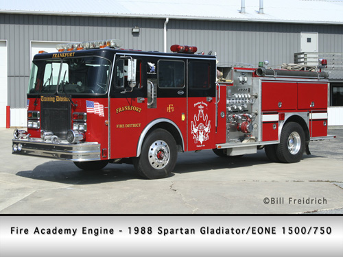 Frankfort FPD training engine