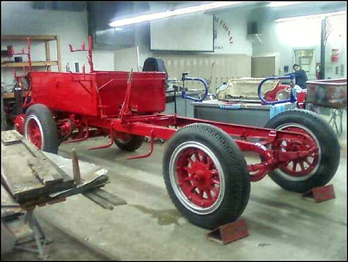Calumet City Fire Department 1914 American LaFrance antique fire engine