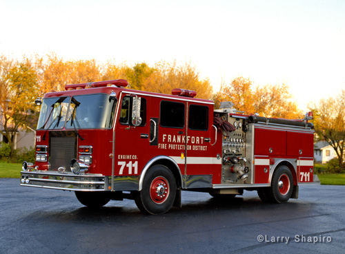Frankfort FPD 1988 Spartan EONE engine