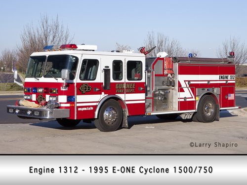 Gurnee Fire Department Engine 1312