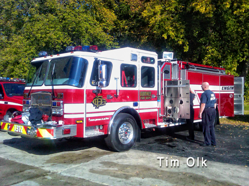 Gurnee Fire Department new Engine 1312