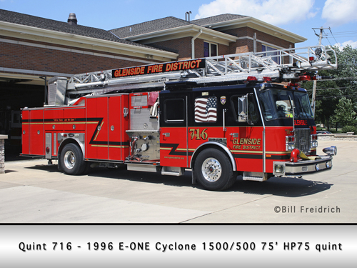 Glenside Fire Protection District Quint 716