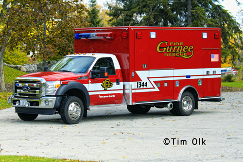 Gurnee Fire Department Ambulance 1344
