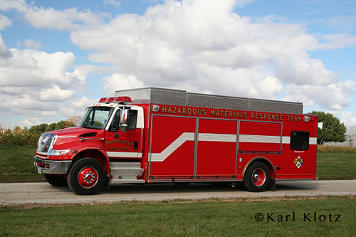 Bloomington IL Fire Department hazardous materials unit