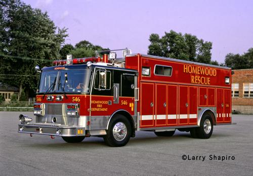 Homewood Fire Department Pemfab squad