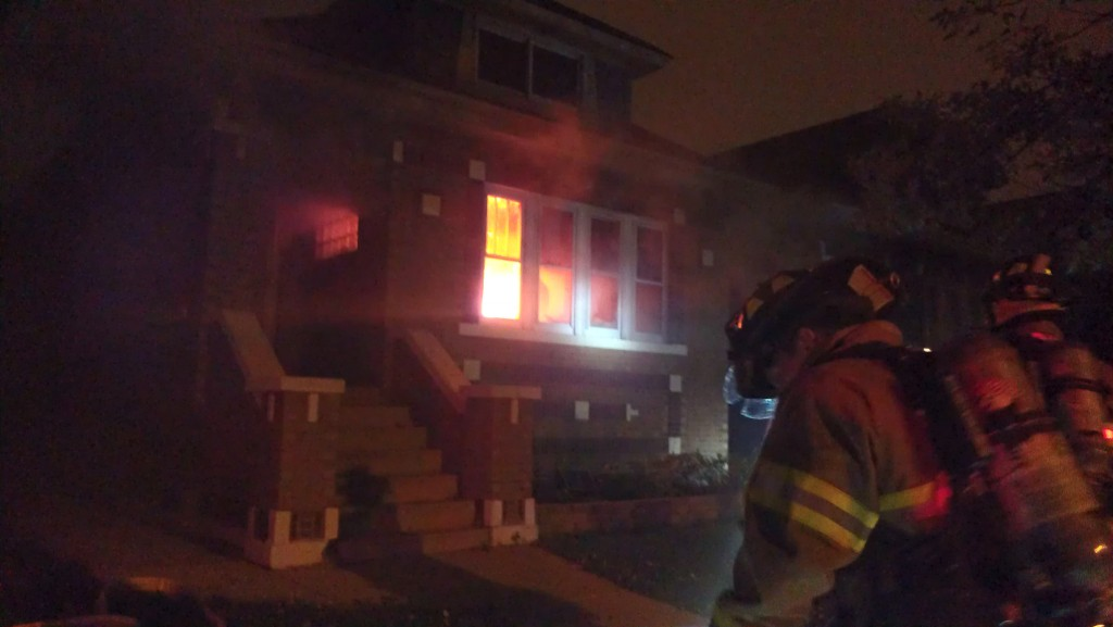 Berwyn house fire 10-11-12