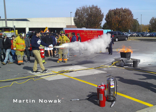 Moraine Valley Fire College Fire Safety Day