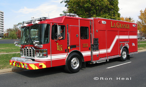Lagrange Fire Department Engine 1111 Ferrara MVP pumper