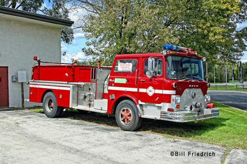 Moraine Valley Fire Science Program fire engine