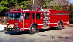Naperville Fire Department Engine 2 EONE Hush