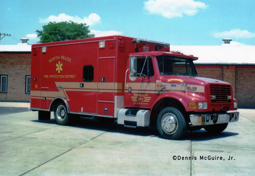 North Palos FPD Ambulance 842