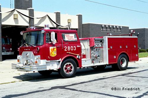 Posen Fire Department Mack CF engine