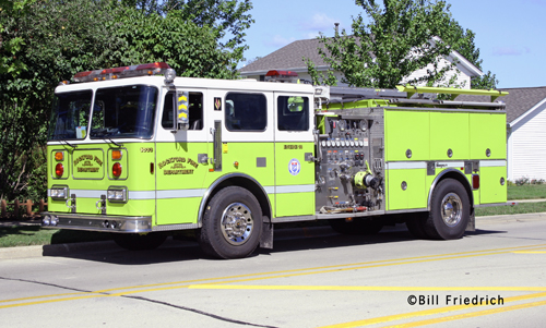 Rockford Fire Department Engine 18