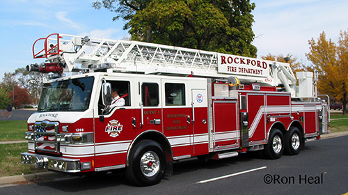 Rockford Fire Department Quint 1