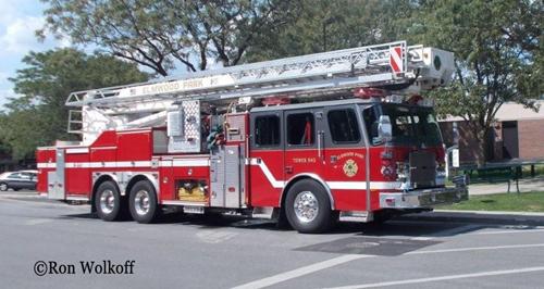 Elmwood Park Fire Department Bronto Sky-lift