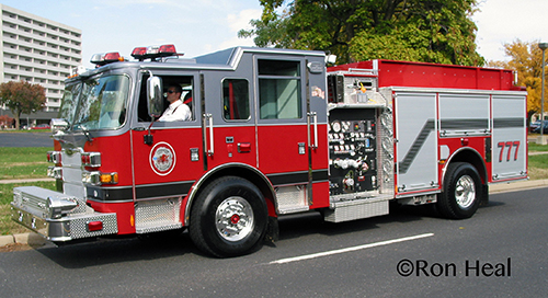 Thronton Fire Department Pierce Arrow XT engine