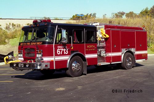 Worth Fire Department Engine 6713