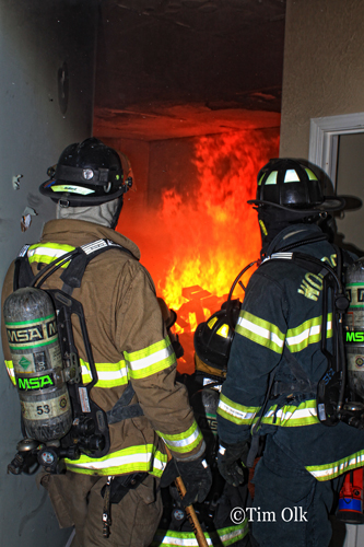 Woodstock Fire Protection District training