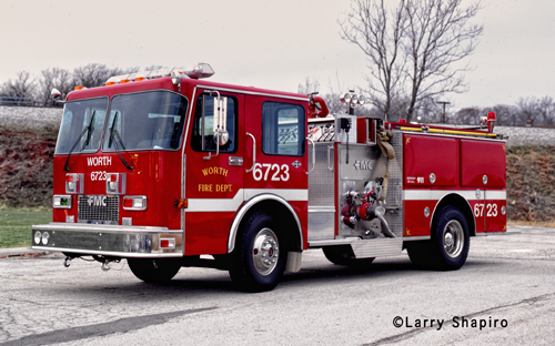 Worth Fire Department Engine 6723