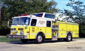 York Center Fire Protection District fire engine