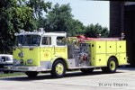 York Center Fire Protection District Seagrave engine