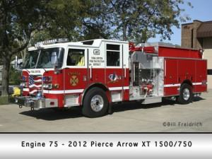 York Center Fire Protection District Engine 75