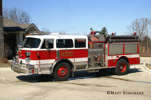 Lemont Fire District American LaFrance Century