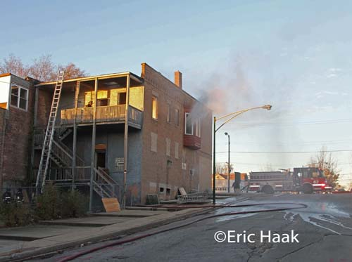 Chicago apartment fire 10901 S. Michigan AvenueEric Haak photo