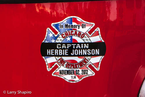 Funeral for Chicago Fire Department Captain Herbie Johnson