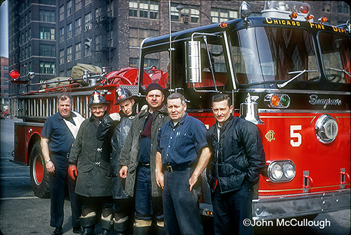 Chicago Engine 5 and crew