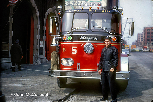 John McCullough and Chicago Engine 5