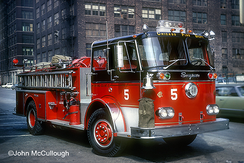 Chicago Engine 5.  1969 Seagrave