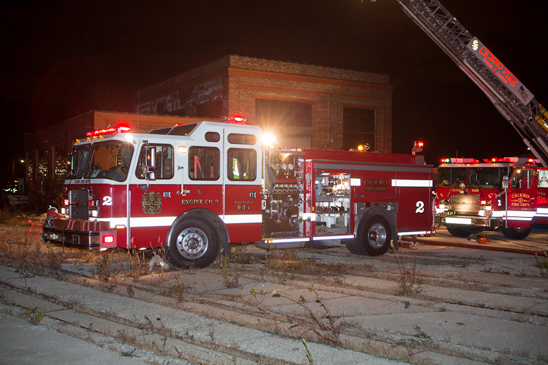 Cicero Fire Department Engine 2