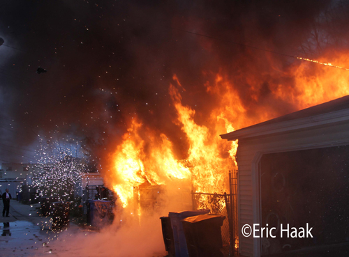 house fire in Chicago 11-13-12