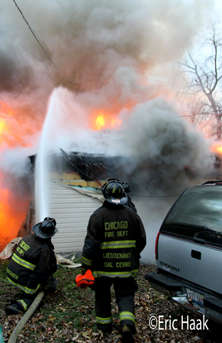 house fire in Chicago on Laramie 11-13-12
