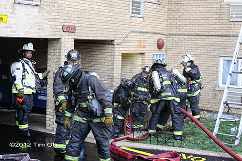 Chicago 3-11 Alarm fire at 2030 W. 111th Street 11-24-12