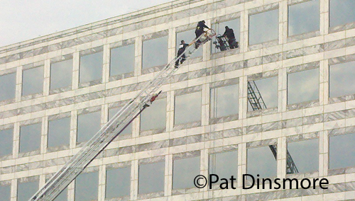 window washer rescued in Deerfield 11-9-12