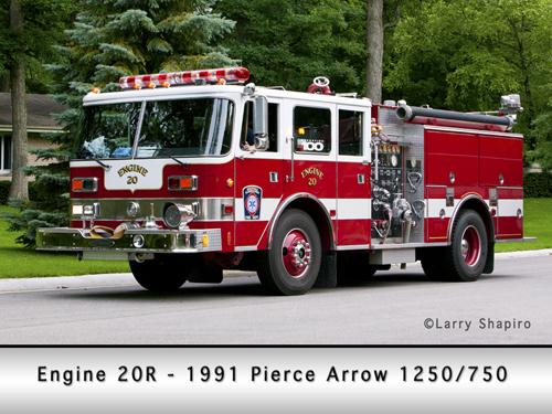 Deerfield Bannockburn Fire Protection District Engine 20