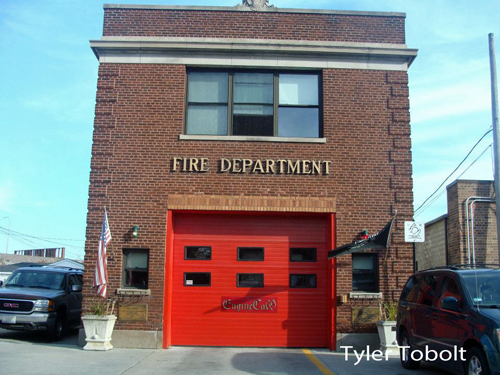 Chicago Fire Department Engine 69's house