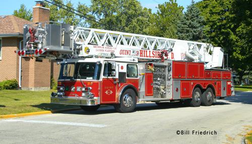 Hillside Fire Department Truck 403 Grumman Aerialcat